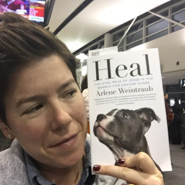 "353: Author Interview: ""Heal : The Vital Role of Dogs in the Search for Cancer Cures"""