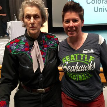 "411: Temple Grandin, author ""Animals Make Us Human"""